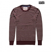 [SUPERDRY ] (남) ORANGE LABEL STRIPE CREW