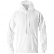 AAA 풀오버 플리스 후드 화이트(AAA FULLOVER HOODED FLEECE WHITE)