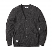 위에스씨 (G4)Andrej(men′s knitted cardigan.black melange)