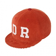 [드라이프] CORDUROY WIRE 6 PANEL CAP-ORANGE