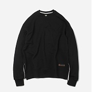 Oversized Sweatshirt _ black