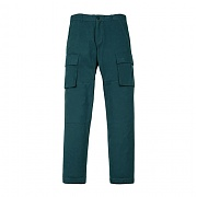 [센트머리]COTTON CARGO PANTS_BLUE GREEN