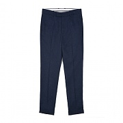 [센트머리]TURN UP WIDE SLACKS_DARK NAVY