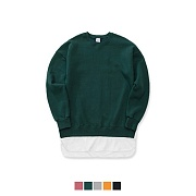 어커버 (650g 기모) Over Fit Layered Sweat Shirt