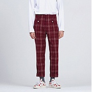 로맨틱크라운 NEWS BOY PANTS_BURGUNDY