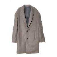 [UNBROWN] 언브라운 OVERSIZE TWO BUTTON COAT (BROWN)