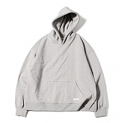 Oversized A-Line Hoodie (Grey)