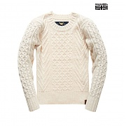 [SUPERDRY 16 F/W] (여) FERA CABLE CREW SD64GKL01