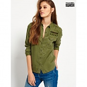 [SUPERDRY 16 F/W] (여) MILITARY SHIRT SD63GWH01