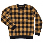 브릭스톤 BRIXTON REGULATOR SWEATER (YELLOW/BLACK)