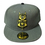REBEL 8 GARGOYLE EIGHT NEWERA (GREY)