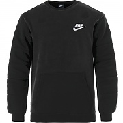 나이키 NSW SSNL 플리스 맨투맨 블랙(NIKE NSW SSNL FLEECE CREW BLACK)