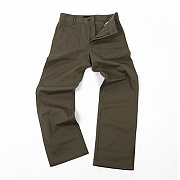 CONVOY twill cotton fatigue pants - khaki