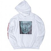 [모티패스트] Motifest - Garments Death Mask Hood Gildan US Ver. (White)