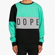 DOPE Composition Crewneck (BLACK)