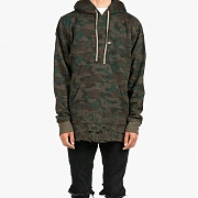 DOPE Destroyed Camo Pullover (CAMO)