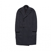 [DUCKDIVE] DSTD OVERSIZE COAT _ DEEP GRAY