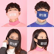 BOY & GIRL STITCH 4D MASK (4COLOR)