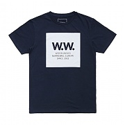 우드우드 WW 스퀘어 티셔츠 WW square T-shirt - Total eclipse