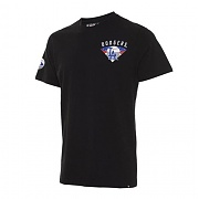 47brand LOS ANGELES DODGERS BLACK ROUND TEE MENS/MLB