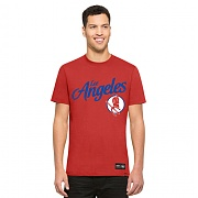 47brand LOS ANGELES RED DEVILS RED ROUND TEE MENS/MLB