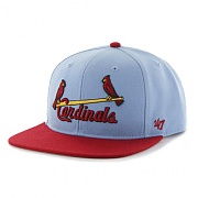 [47brand] ST. LOUIS CARDINALS COOPERSTOWN COLUMBIA SURE SHOT TWO TONE 47 CAPTAIN WOOL /MLB모자