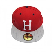HUF INSTRIP BILL CLASSIC H NEW ERA [3] (RED)
