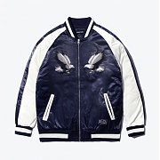 [셔터] EAGLE NEEDLEPOINT SOUVENIR JACKET (NAVY)