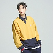 로맨틱크라운 Laundry Day polo shirt_Mustard