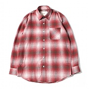 Big Check Nap Shirts (Red)