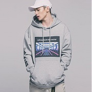 어반스터프(USF) SUBWAY HOODY GRAY