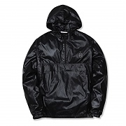 (H1)Windbreaker(unisex jackets.black)