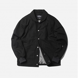 프리즘웍스 Silent coach jacket _ black
