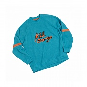 [세인트리스] ORANGE RAGLAN KNIT MINT