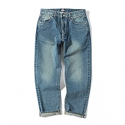 제로 Ankle Cut Denim Pants (Aqua Green)