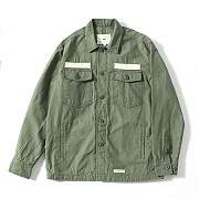 제로 Military Shirts Jacket (Khaki)