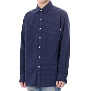 JHONNY WEST - L.P Tartan Daily Shirts (Blue)