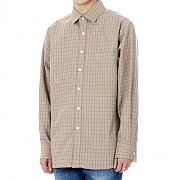 JHONNY WEST - GO.Check Daily Shirts (Tan)
