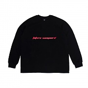 굿펠라즈 Future Crewneck Black