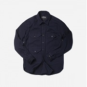 프리즘웍스 KUROKI crusier shirt _ navy