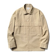 파르티멘토 (UNISEX)Fatigue Pocket Shirt Jacket Beige