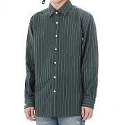 JHONNY WEST - Vertical Line Shirts (Green)