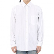 JHONNY WEST - Vertical Line Shirts (White)