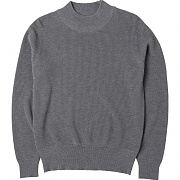 니들워크 Mil Crew Knit(Heather Gray)