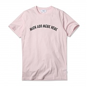 (H1)Max Mirrored Print(mens S/S t-shirt.cradle pink)