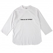 콘보이 WORK RAGLAN SLEEVES WHITE