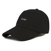 [모티패스트] Motifest - Garments New Order Double Strap Cap (Black)
