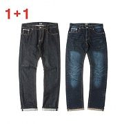 (단독가)세인트페인 (1+1)SP JAMES SELVAGE DENIM PANTS