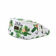 로맨틱크라운 Tropical waist bag_White