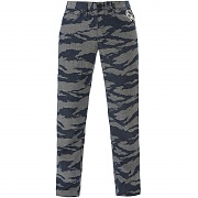 크룩스앤캐슬 타이거 카모 팬츠 (CROOKS&CASTLE Mens Denim Pants - Tiger Camo Black)